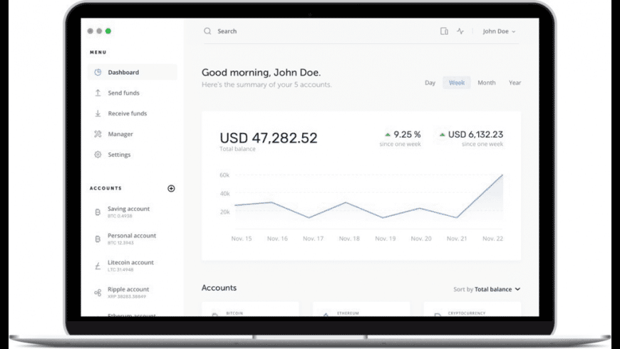 Ledger Live for Mac - review, screenshots