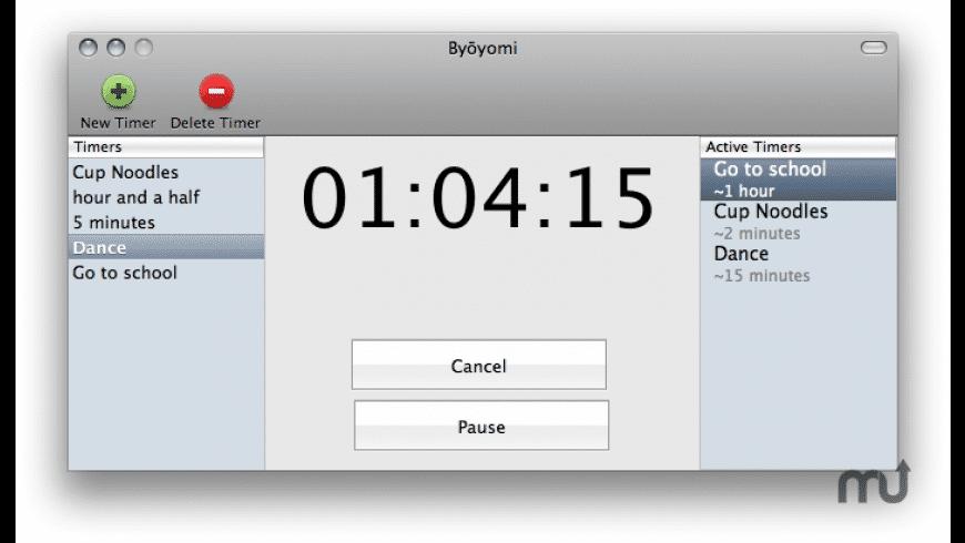Byoyomi for Mac - review, screenshots