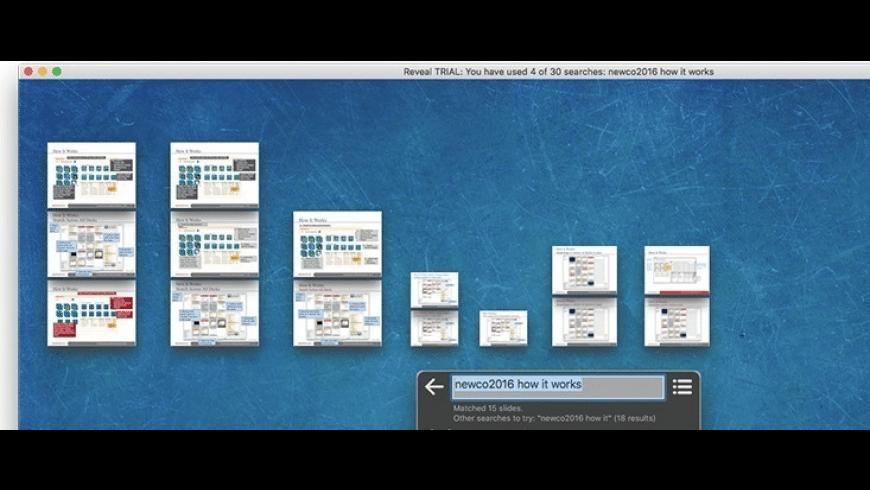 Reveal for Mac - review, screenshots