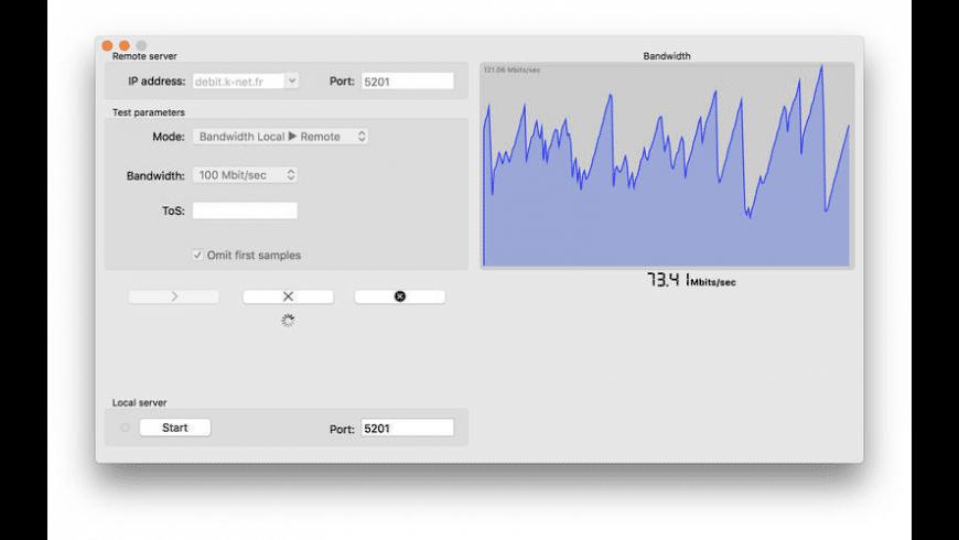 IperfUtil for Mac - review, screenshots