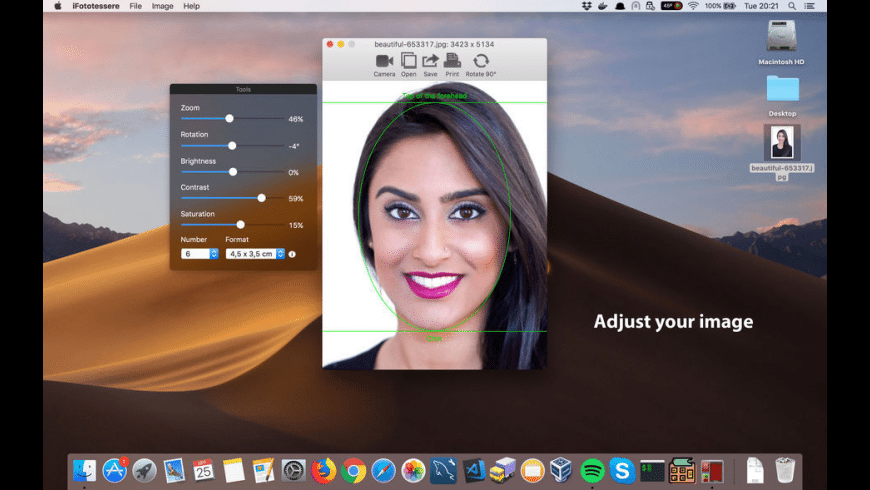 iFototessere for Mac - review, screenshots