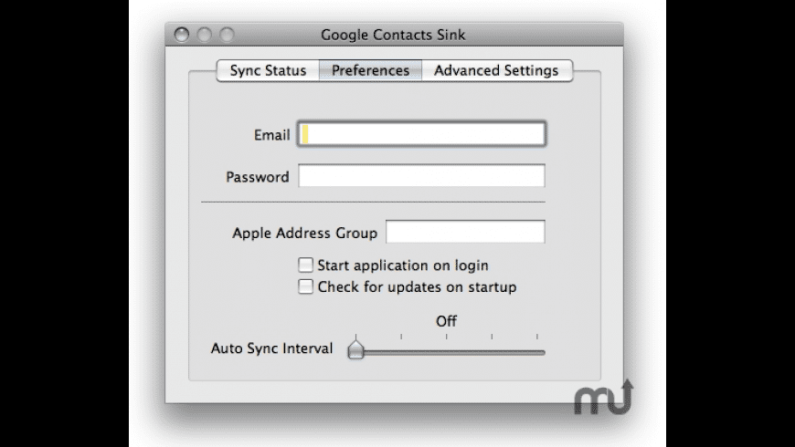 Google Contact Sink for Mac - review, screenshots