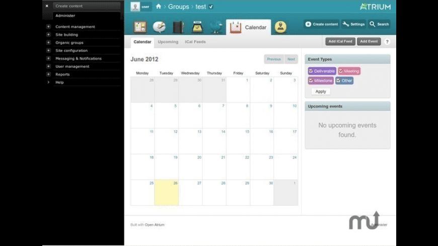 BitNami Open Atrium Stack for Mac - review, screenshots