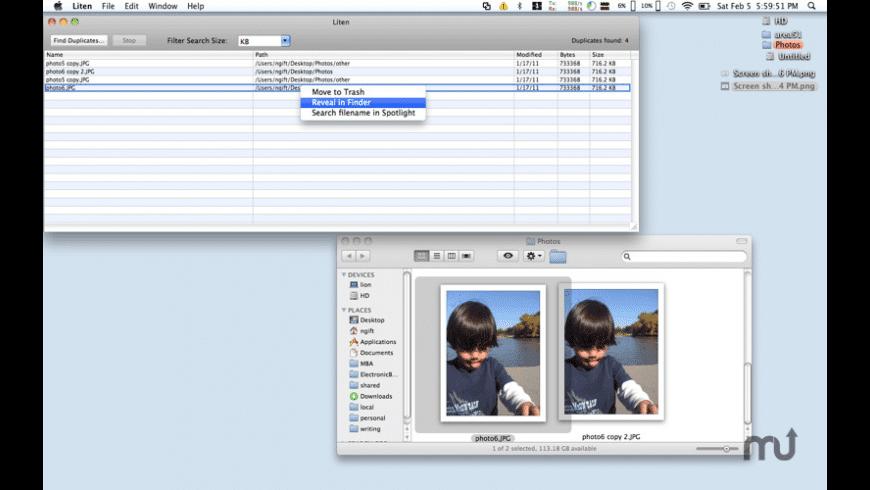 Liten for Mac - review, screenshots