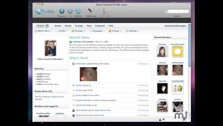 net4mac for Mac - review, screenshots
