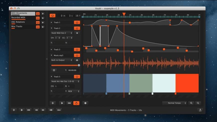 Vezér for Mac - review, screenshots
