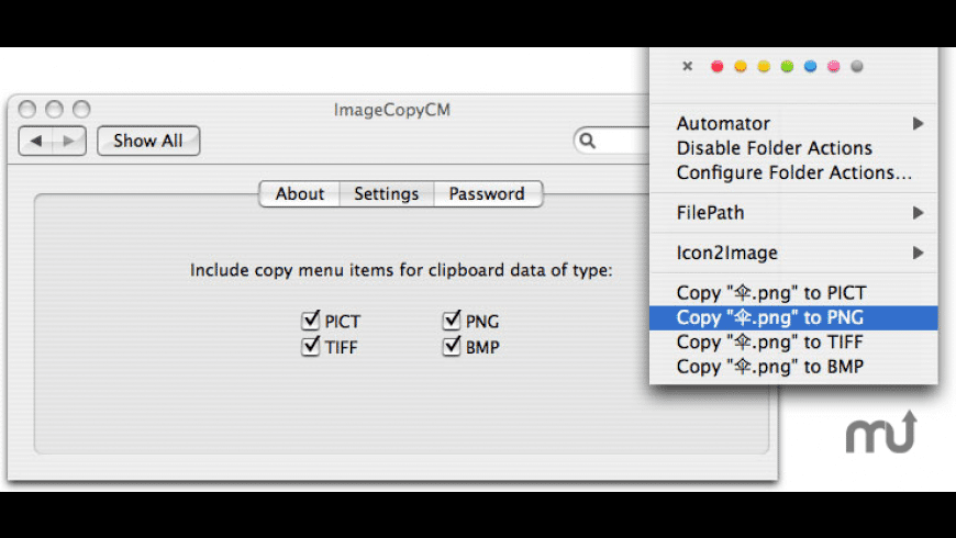 ImageCopyCM for Mac - review, screenshots