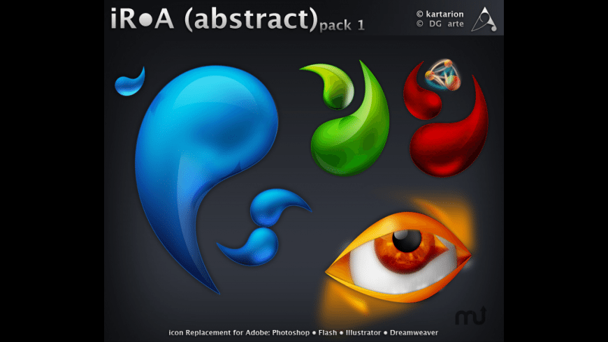 iRA Abstract Icons for Mac - review, screenshots