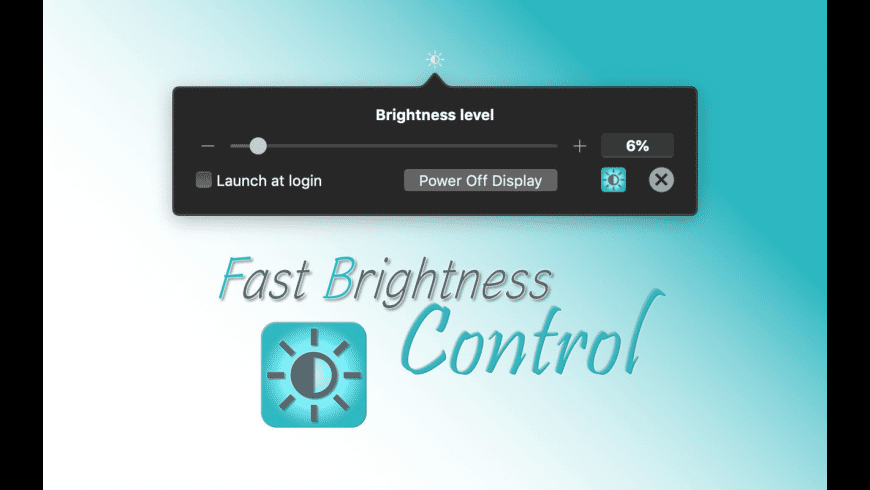 Fast Brightness Control for Mac - review, screenshots