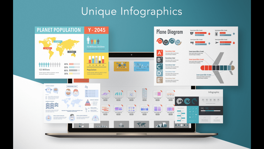 Infographics Prime for Mac - review, screenshots