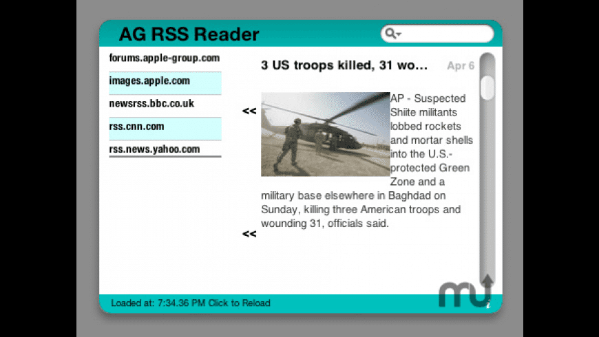 AG RSS Reader for Mac - review, screenshots