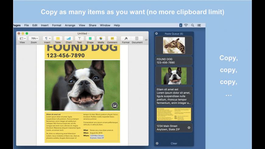 Paste Queue for Mac - review, screenshots