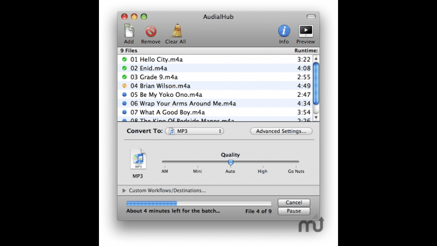 AudialHub for Mac - review, screenshots