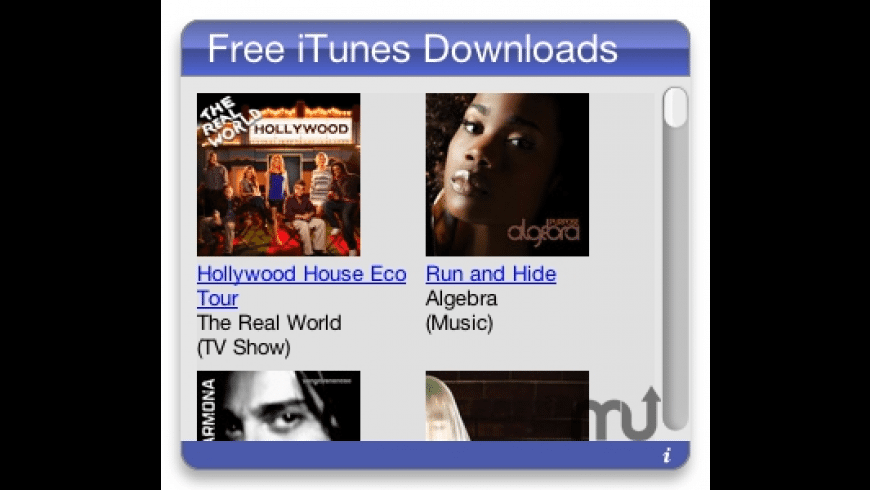 Free iTunes Downloads for Mac - review, screenshots