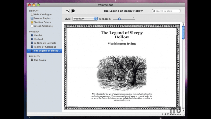Voluminous for Mac - review, screenshots
