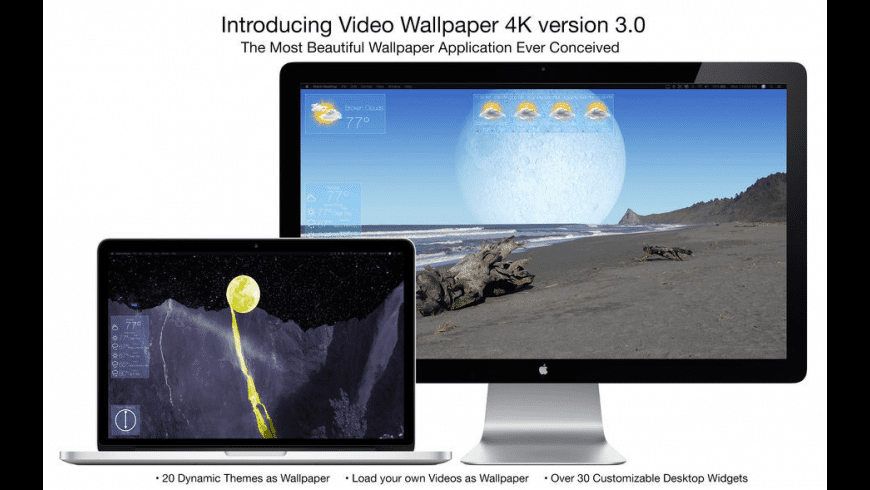 Video Wallpaper 4K for Mac - review, screenshots