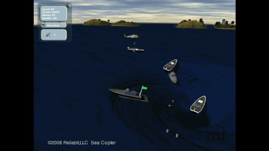 Sea Copter for Mac - review, screenshots