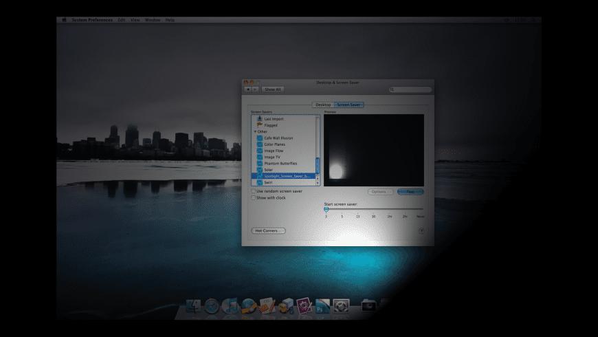 Spotlight Screen Saver for Mac - review, screenshots