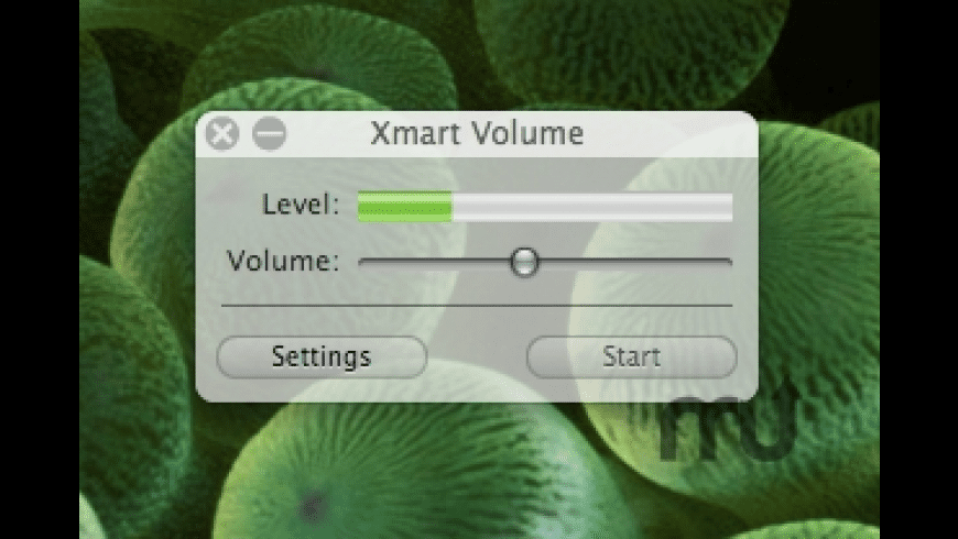 Xmart Volume for Mac - review, screenshots