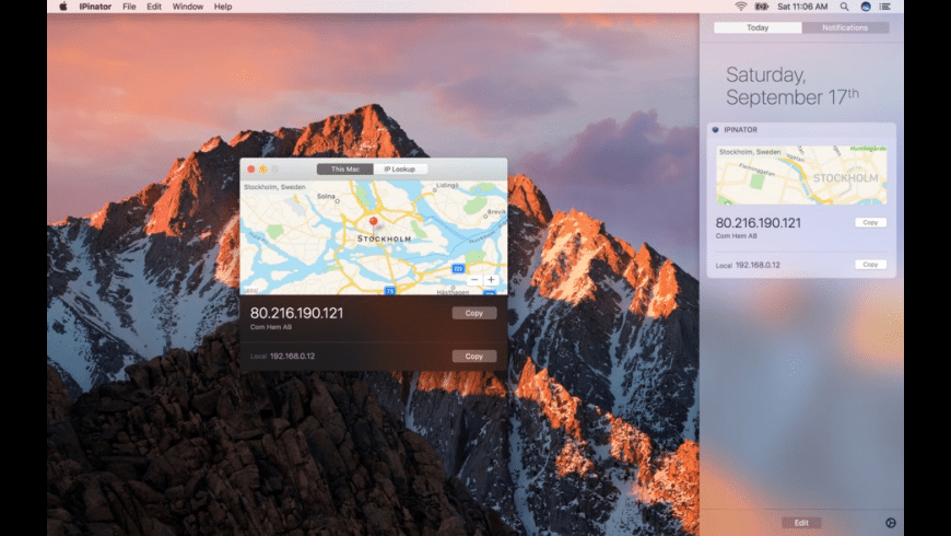 IPinator for Mac - review, screenshots