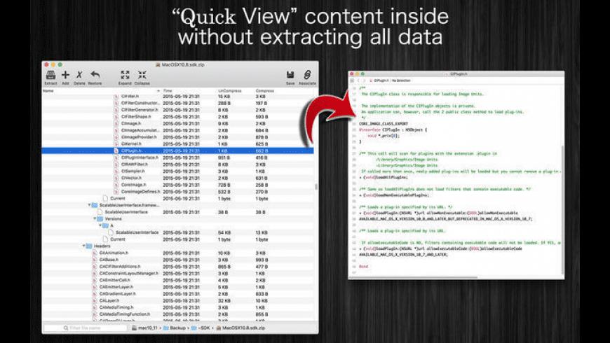 EncryptedZip for Mac - review, screenshots