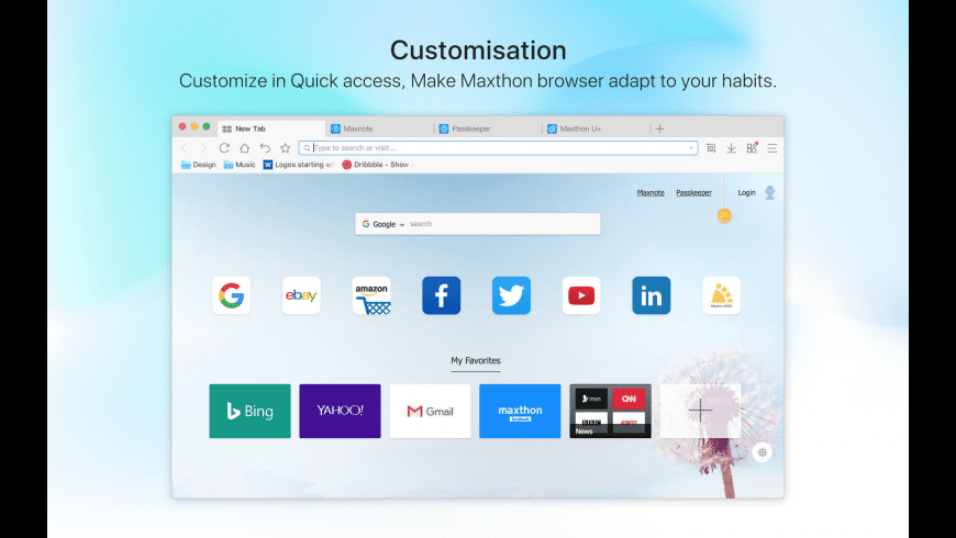 Maxthon Browser for Mac - review, screenshots