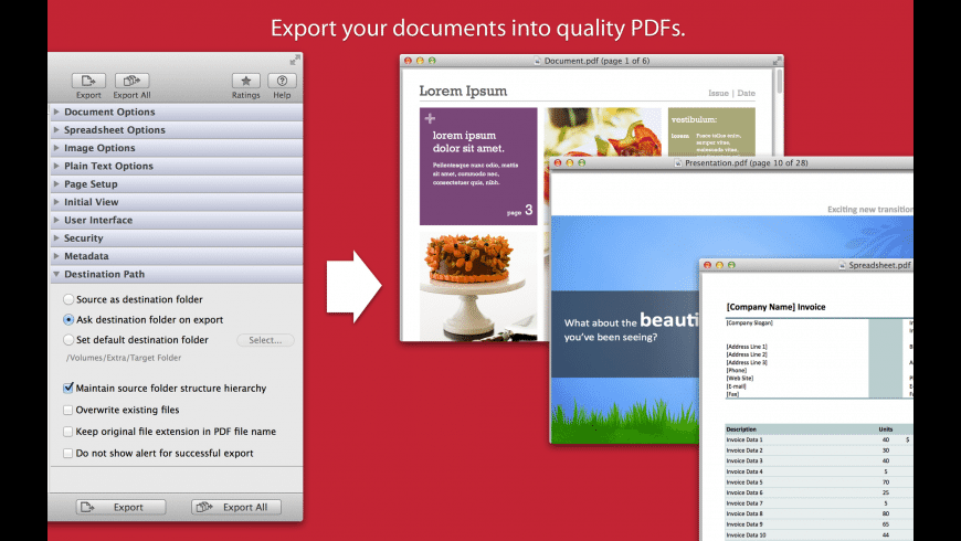 PDFtor for Mac - review, screenshots