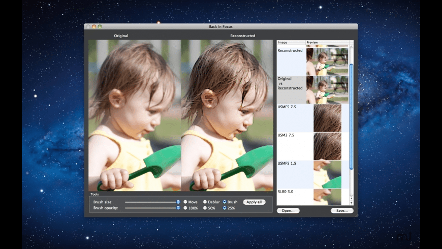 Back In Focus for Mac - review, screenshots