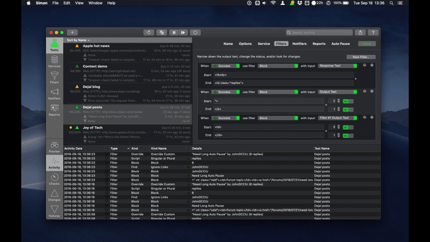 Simon for Mac - review, screenshots
