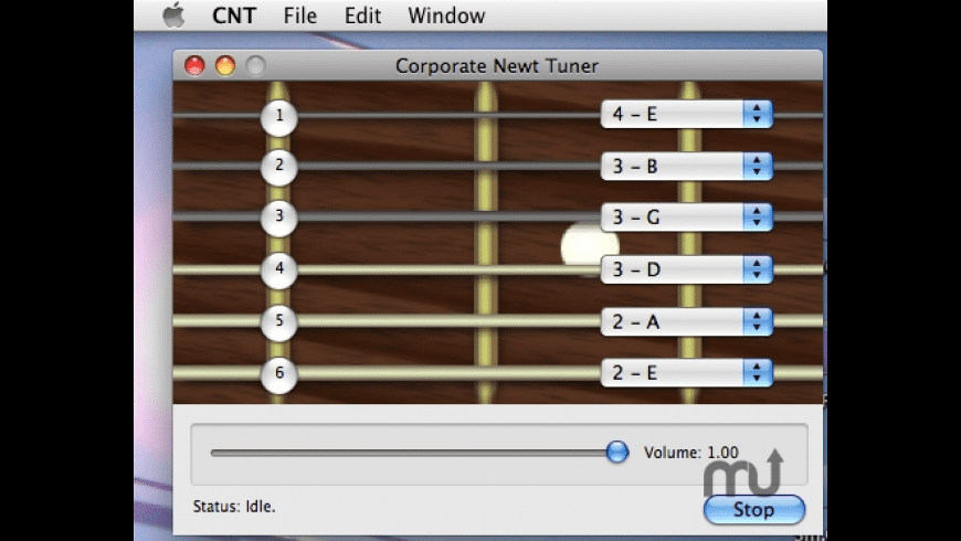 Corporate Newt Tuner for Mac - review, screenshots
