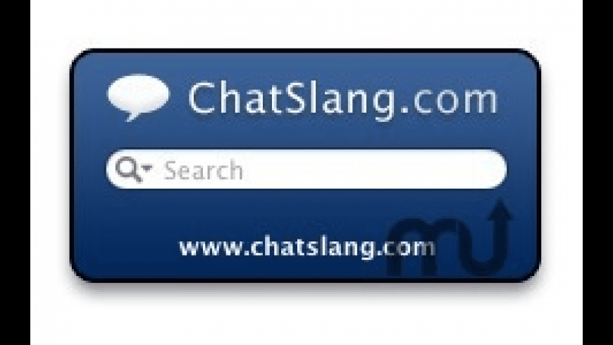 Chat Slang Dictionary for Mac - review, screenshots
