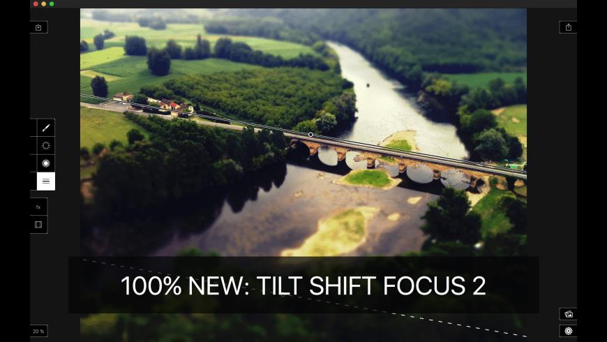Tilt Shift Focus for Mac - review, screenshots