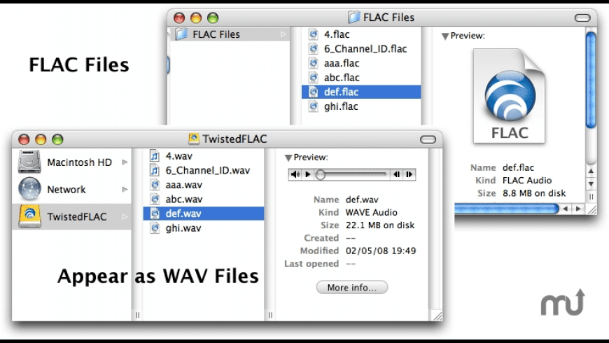 TwistedFLAC for Mac - review, screenshots
