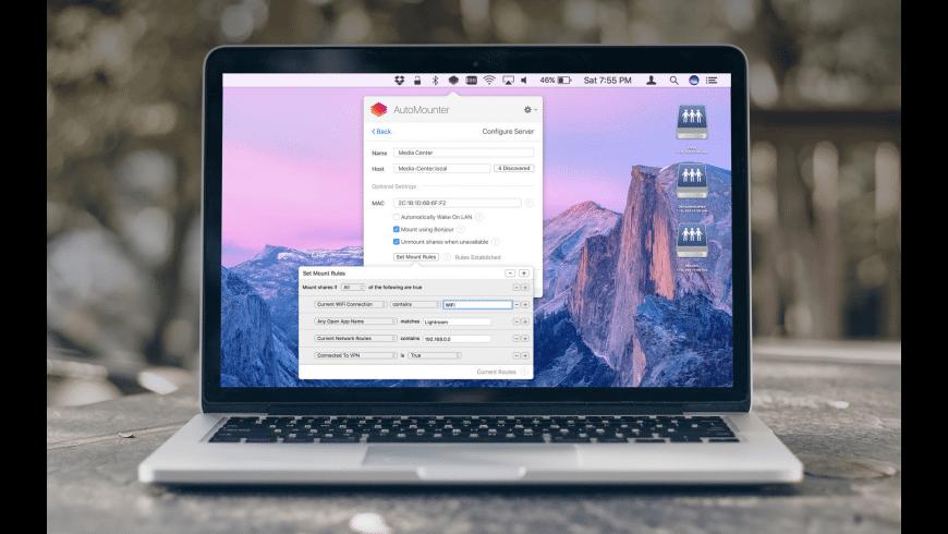 AutoMounter for Mac - review, screenshots