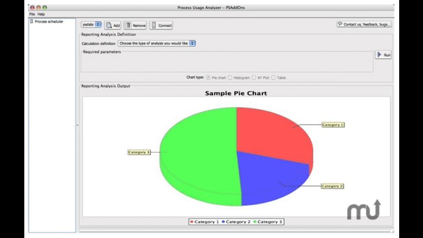 Process Usage Analyzer for Mac - review, screenshots