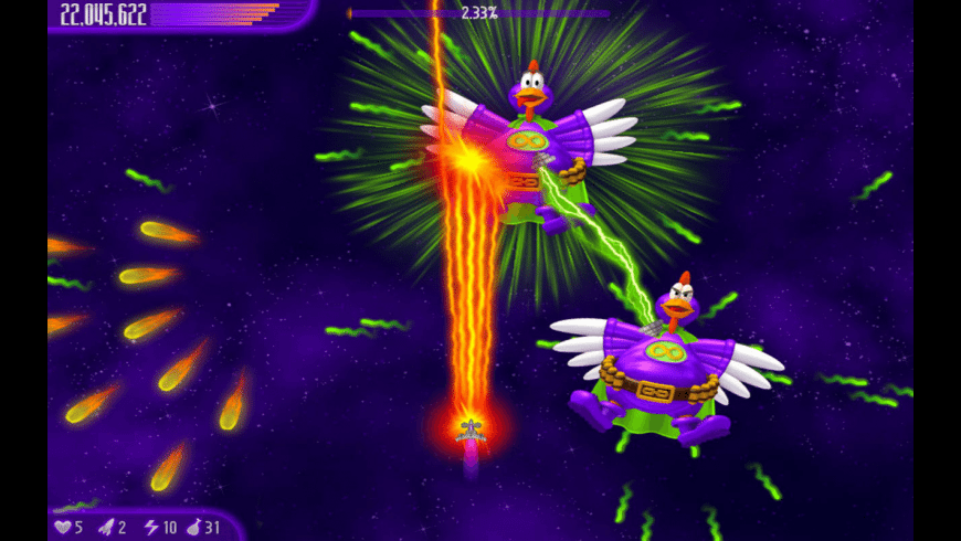 Chicken Invaders 4 for Mac - review, screenshots