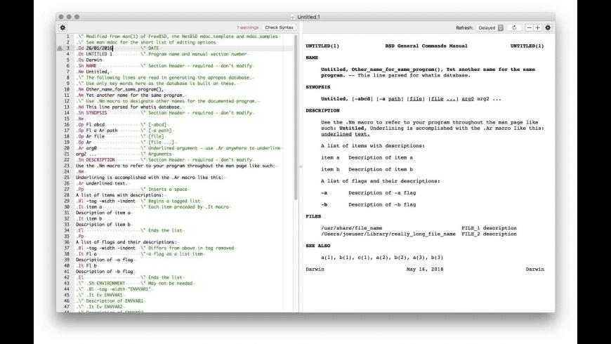 ManDrake for Mac - review, screenshots