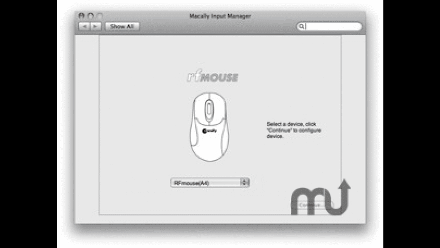 Macally Mouse Input Manager for Mac - review, screenshots
