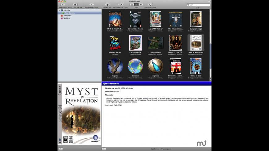 Game Hunter for Mac - review, screenshots