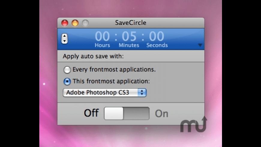 SaveCircle for Mac - review, screenshots