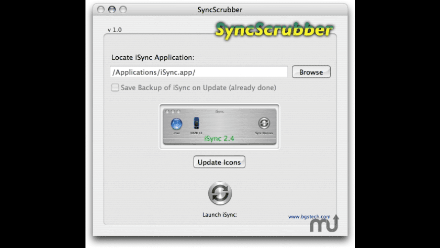 SyncScrubber for Mac - review, screenshots