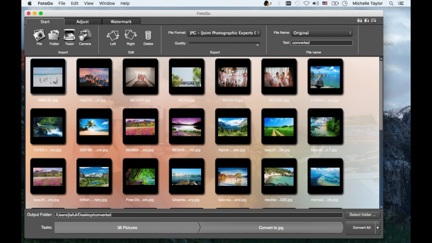 FotoGo for Mac - review, screenshots