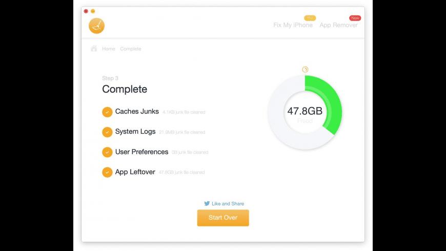 WeCleanse for Mac - review, screenshots