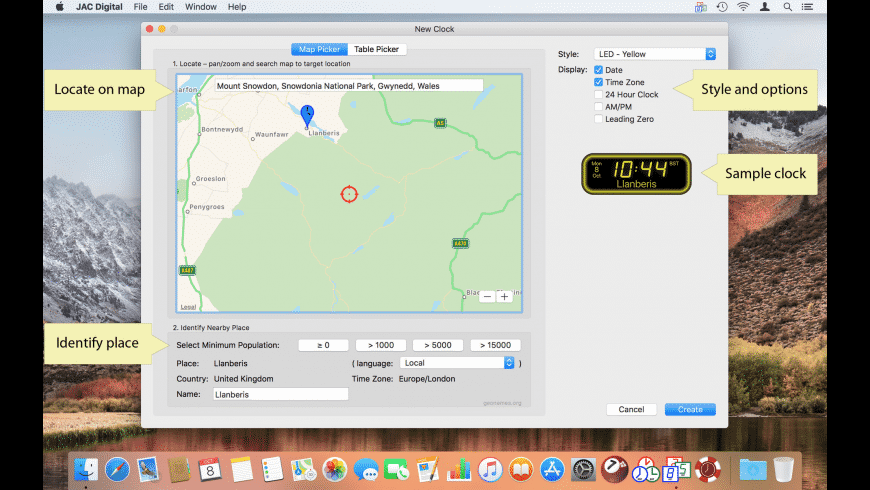 JAC Digital for Mac - review, screenshots