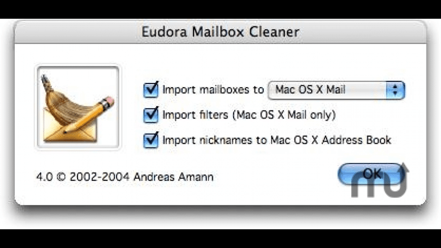 Eudora Mailbox Cleaner for Mac - review, screenshots