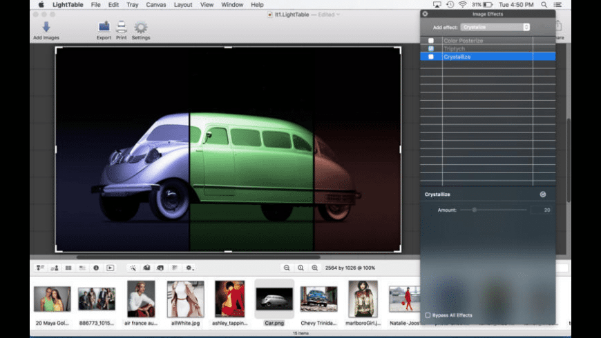 LightTable for Mac - review, screenshots