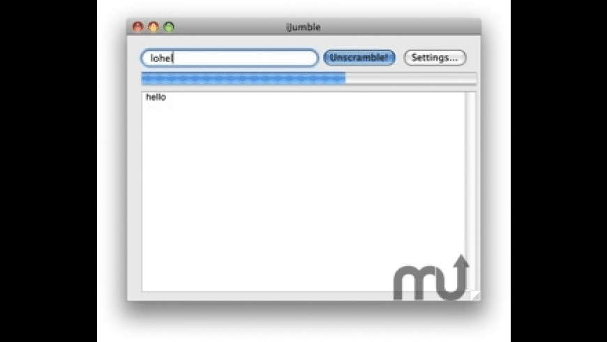 iJumble for Mac - review, screenshots