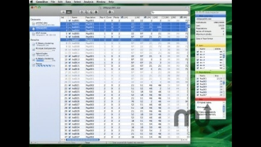 GenoDive for Mac - review, screenshots