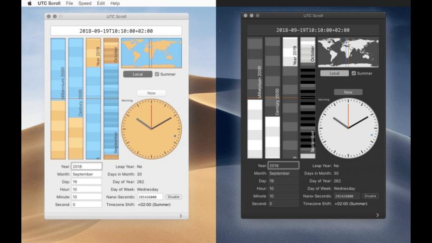 UTC Scroll for Mac - review, screenshots