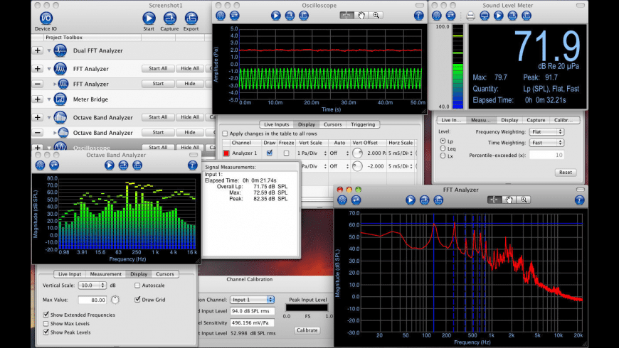 Electroacoustics Toolbox for Mac - review, screenshots